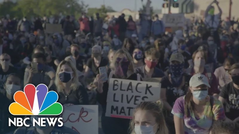 ОДНИ иии( Там -ДИБЕЛЫ- ДРУГИЕ еее George Floyd Protesters Speak Out Were Not Moving Until Something Changes | NBC News