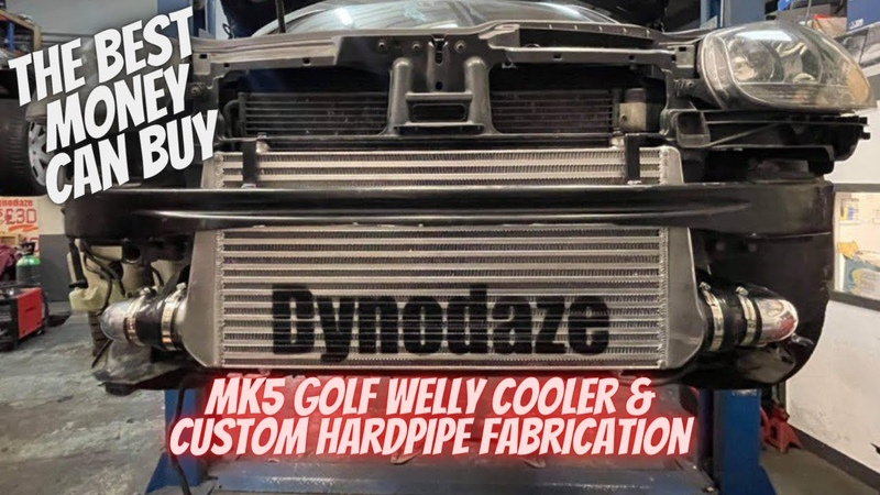 Welly Cooler Custom Hardpipes Mk5 Volkswagen Golf GTI 2.0 TFSI