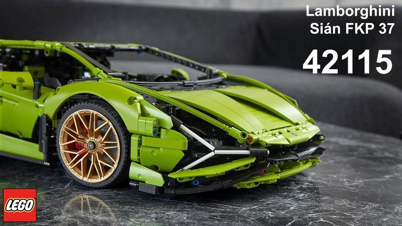 [PROMO 1] 42115 LEGO Technic Lamborghini Sián FKP 37 | OFFICIAL SET REVEAL🔥