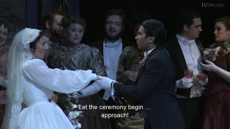 Gaetano Donizetti Lucia di Lammermoor Лючия ди Ламмермур Блумингтон 2018