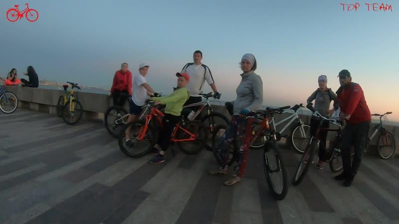 Top Team Велопрогулка по Питеру 23 24 06 20 г