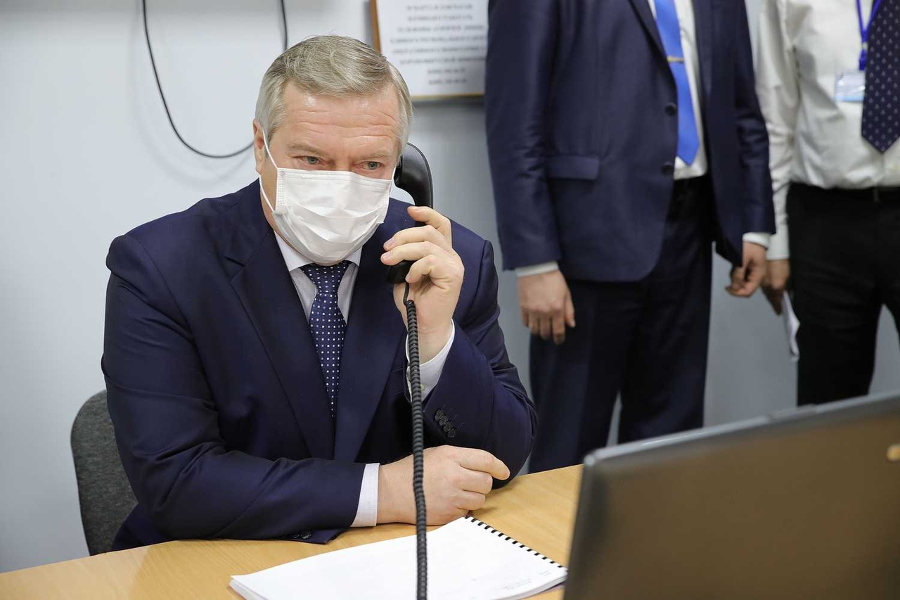 Губернатор Василий Голубев оценил готовность БСМП Таганрога к работе с пациентами по коронавирусу