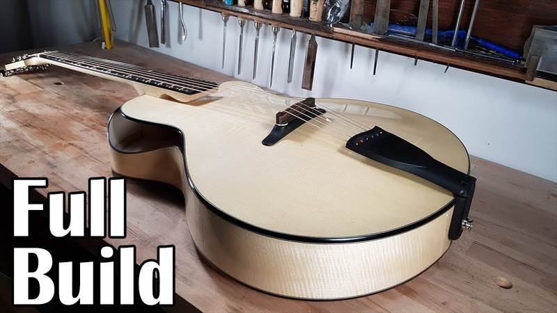 Making a Custom Archtop Guitar Full build