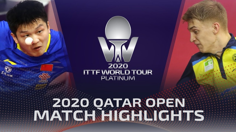Fan Zhendong vs Anton Kallberg 2020 ITTF Qatar Open Highlights R32