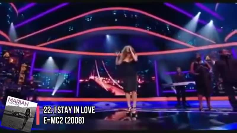 Mariah Carey's TOP 100 SINGLES OF ALL TIME 1990 2018