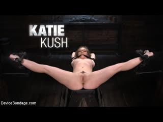 [LIL PRN] Device Bondage - Katie Kush - The Brat is Back  1080p Порно, Blonde, Bondage, Blindfolded, Brutal, Dungeon