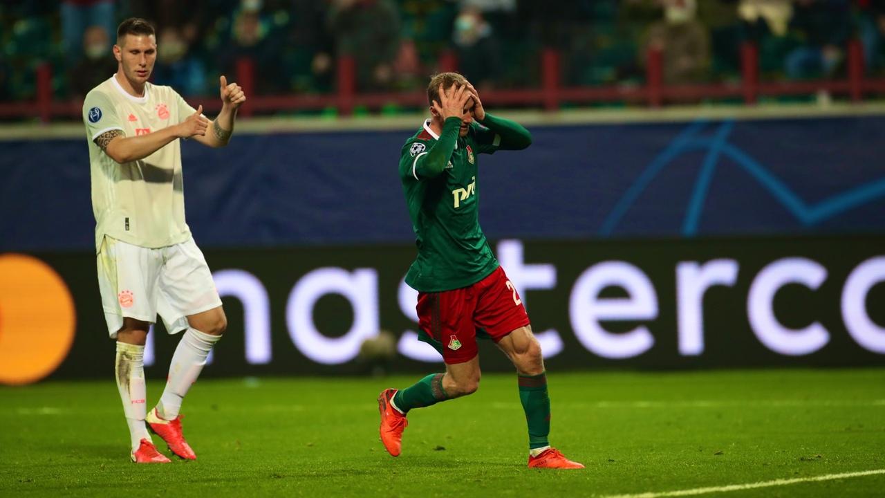 Локомотив - Бавария, 1:2. Владислав Игнатьев