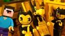 БЕНДИ и День Рождения Лего НУБика Майнкрафт ФНАФ Мультики - LEGO Minecraft FNAF