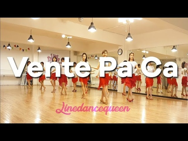 Vente Pa Ca Line Dance Improver Elisabeth HS Demo
