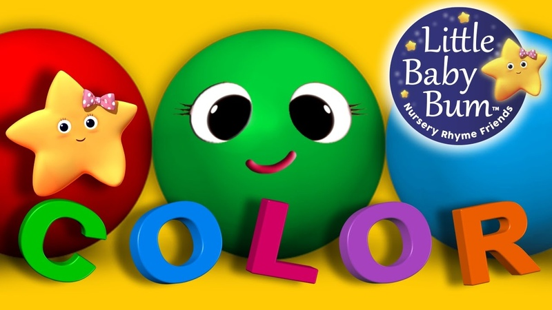 Learn Colors Objects Song | Children's Nursery Rhymes | by LittleBabyBum! | ABCs and 123s