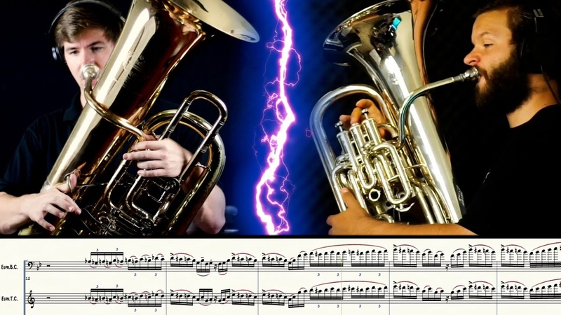 HARDEST FASTEST TUBA EUPHONIUM DUET EVER?!?! WHAT DO YOU THINK Matonizz and Kelley Euph Em All