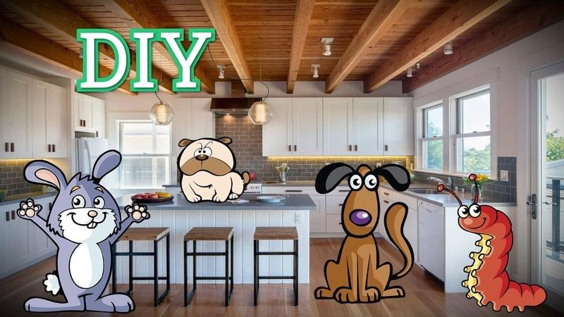 DIY обустройство кухни в частном доме