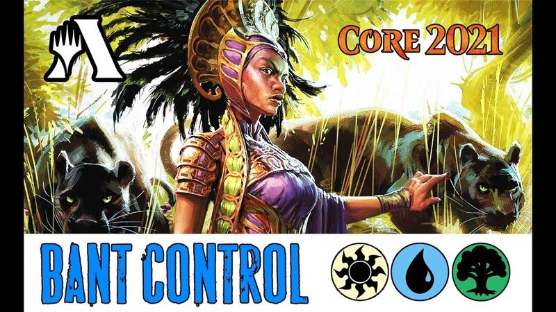 Bant Control от Подписчика MTG Arena M21 Standard DECK Guide