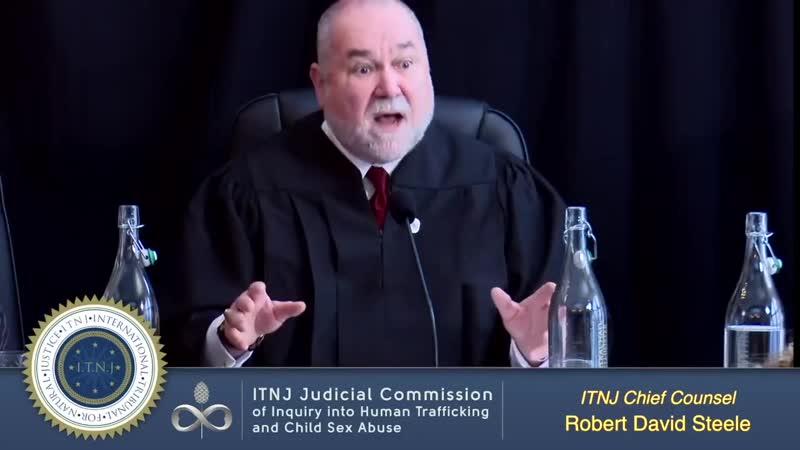 [VF] Commission Judiciaire Sur Le Trafic Des Enfants - Tribunal DInstruction - Robert D. Steele