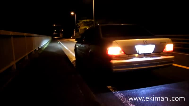 Mercedes-Benz W140 S70 AMG [ Brilliant exhaust] ー Sound (Headers Muffler)