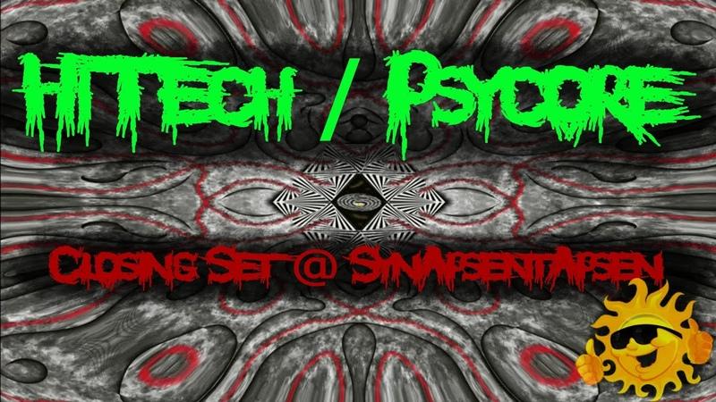 HiTech Psycore 😈💥 RageMode 💥😈 @ Synapsentapsen July 2019