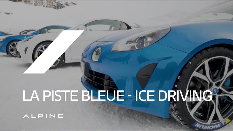 Alpine La Piste Bleue Ice Driving