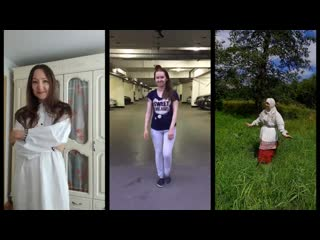 Online флэшмоб 'Беларуск строй'  - Traditional Belarusian costume (Online flashmob)