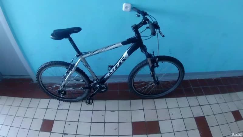 Ремонт велосипеда Stels Navigator 850 2 я часть