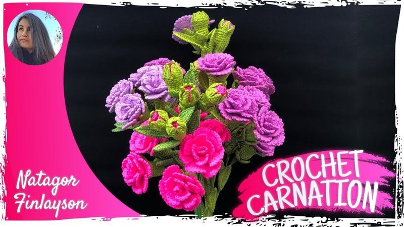 วิธีถักดอกคาเนชั่นดอกเล็ก