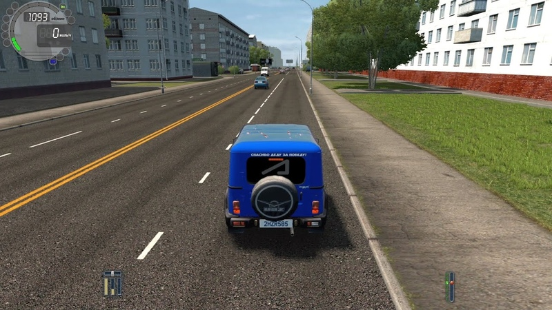 City Car Driving Uaz АНТИГЕЛИК l Fast Driving Link CCD Gameplay G29