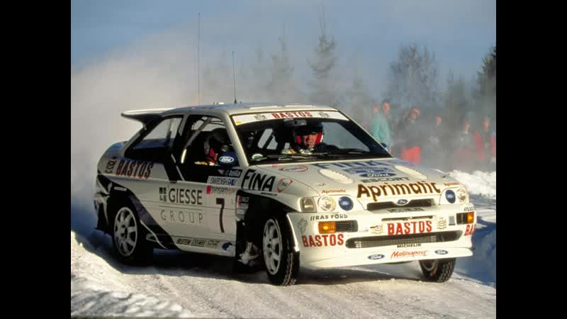 Ford Escort Cosworth rs Rally