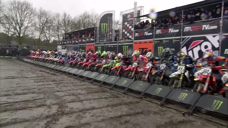 MXGP MX2 Этап 2 Нидерланды Первые гонки