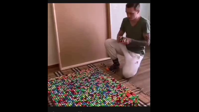 играем в кубики mp4