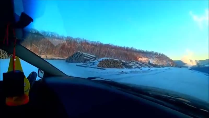 Лесозаготовка в ЕАО на Дальнем Востоке