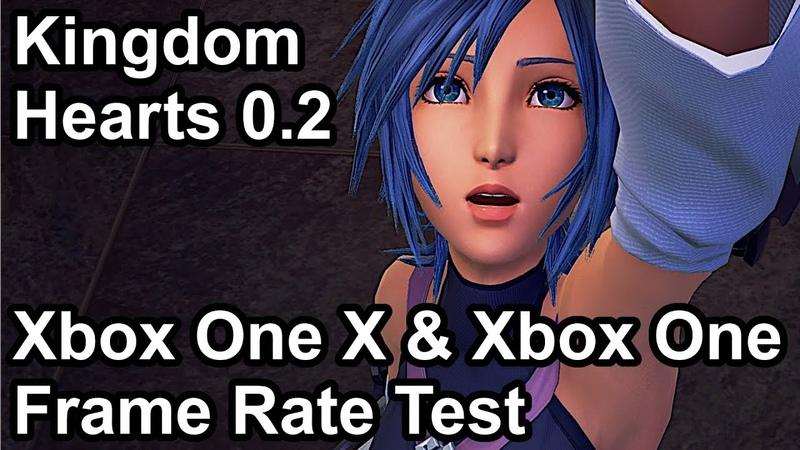 Kingdom Hearts 0 2 Xbox One X vs Xbox One Frame Rate Comparison