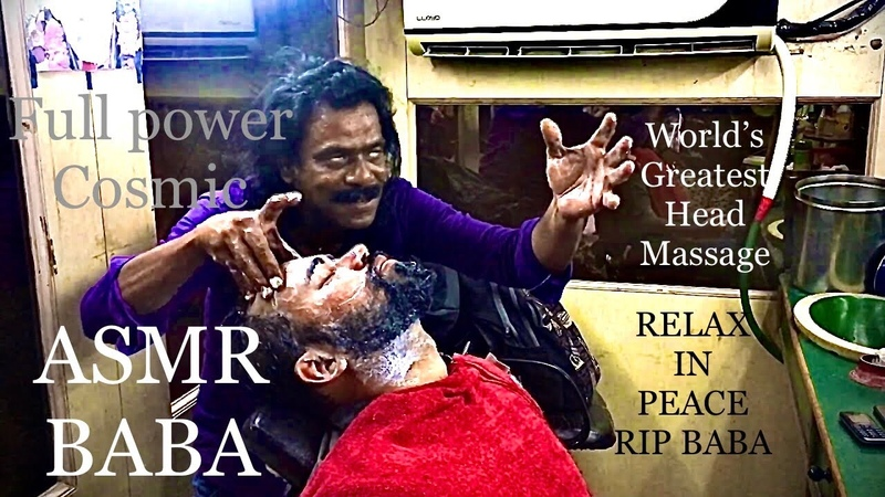World's Greatest Head Massage by Baba Sen Face Massage Cosmic Massage ASMR