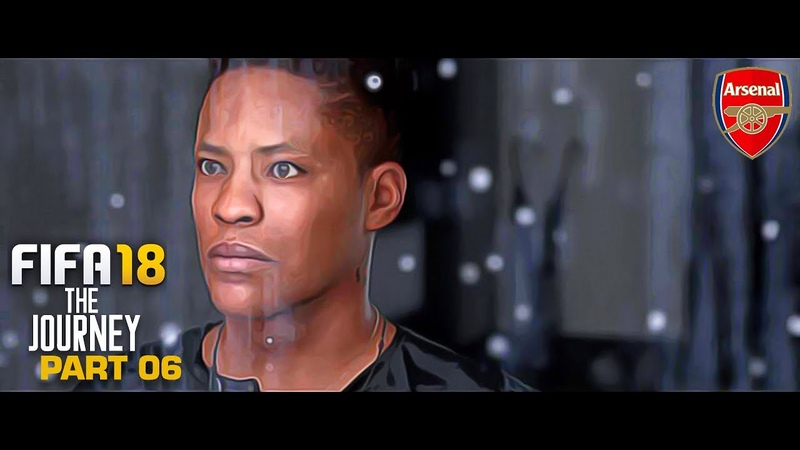 FIFA 18 The Journey Gameplay Walkthrough Part 06 Transfer Request PS4