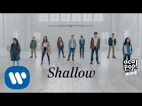 Acapop! KIDS - SHALLOW by Lady Gaga and Bradley Cooper (Official Music Video)