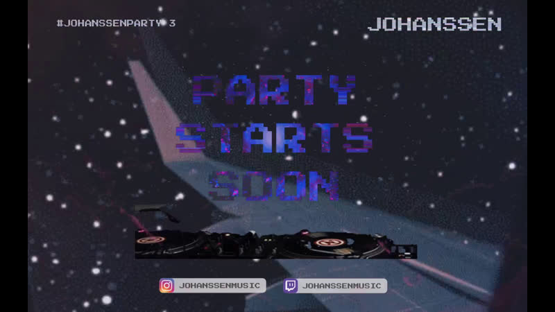 Johanssen Party 3 Live EDM DJ Show House Music Nu Disco and EDM Home Festival with Dj Johanssen
