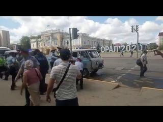 Задержание митингующих 6 июня