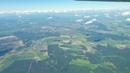 Брест с высоты 3700 метров . Прыжки с парашютом. Пролет сквозь облака , на самолёте. ВАСЬКАПИЛОТ