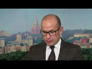 Пресс-подход Александра Бречалова
