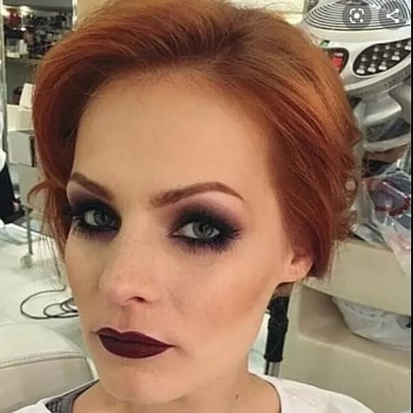 Мэрилин Керро и ее эксперемент с макияжем.