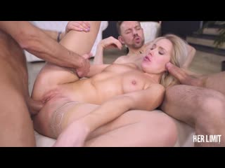 Angelika Grays - Cock-hungry blonde destroyed by two studs - Anal Sex DP Blonde Rough Hardcore Deepthroat Russian, Porn, Порно