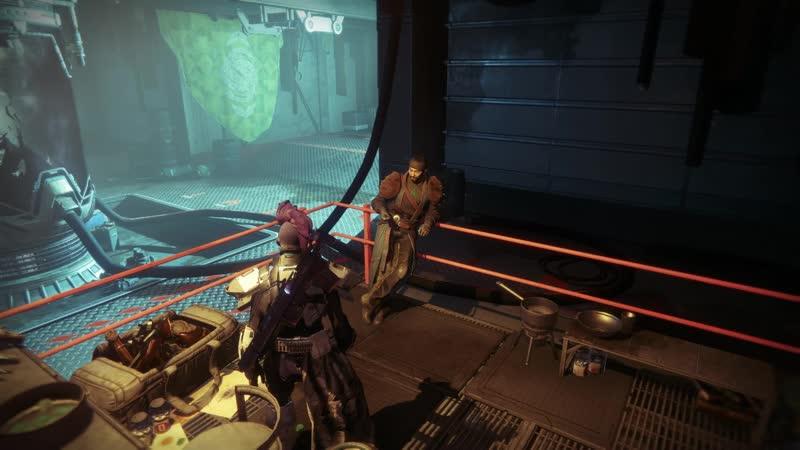 Destiny 2 character dialogues Drifter 3