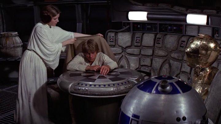 1977 La Guerra de las Galaxias HD George Lucas