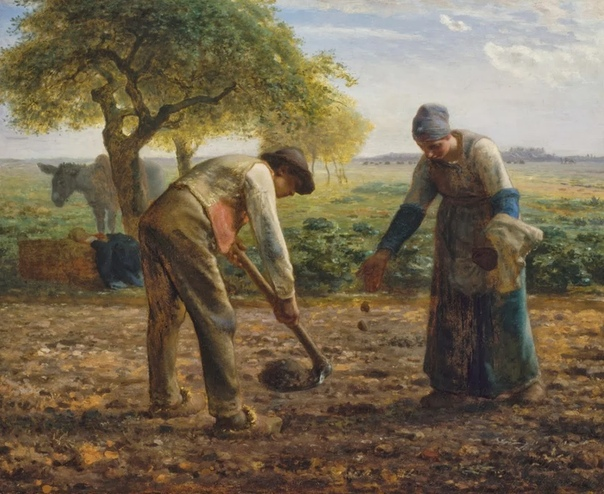 Сколько факторов должно было сойтись, чтобы Жан-Франсуа Милле (Jean-François Millet, 1814-1875 стал признанным гением реализма Этого художника жизнь бросала из стороны в сторону, но волей случая