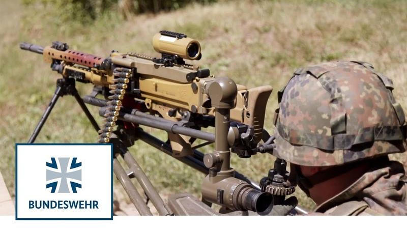 Maschinengewehr Taktik und Kampfweise des MG's Bundeswehr
