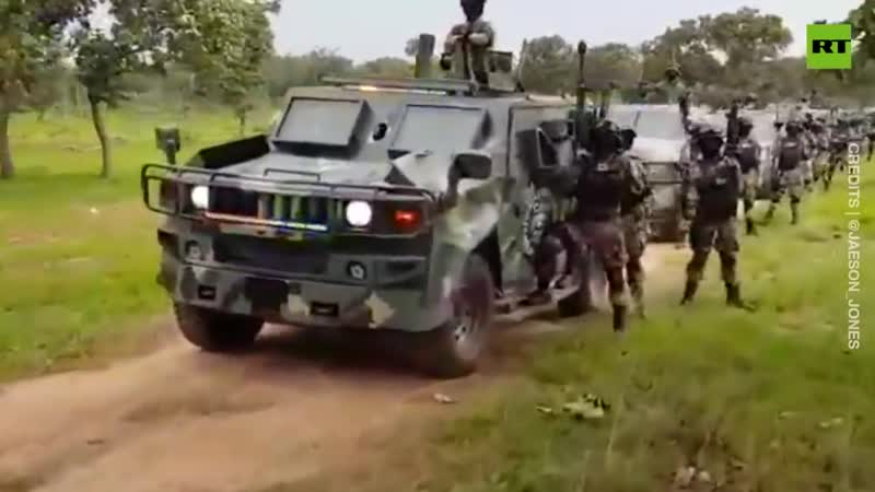 Shocking footage Mexico's 'cartel army' prompts government inquiry