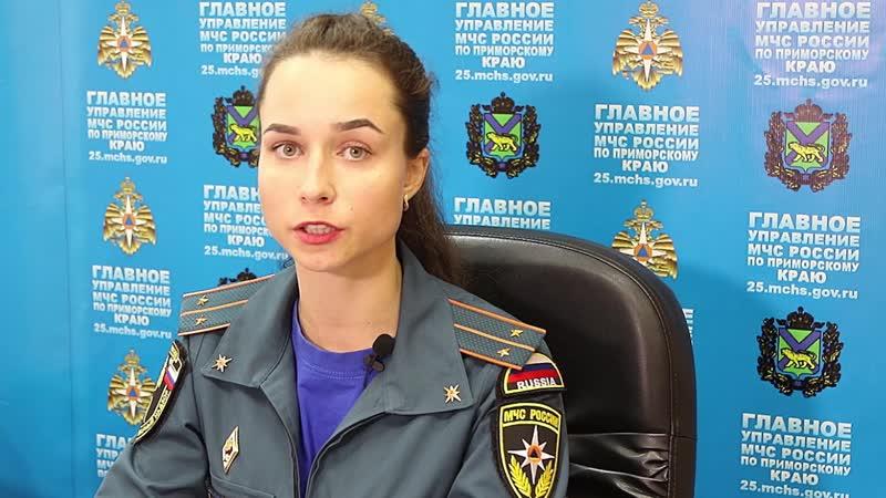 Правила безопасного поведения подрастающего поколения в быту для родителей Главное управление МЧС России по Приморскому краю