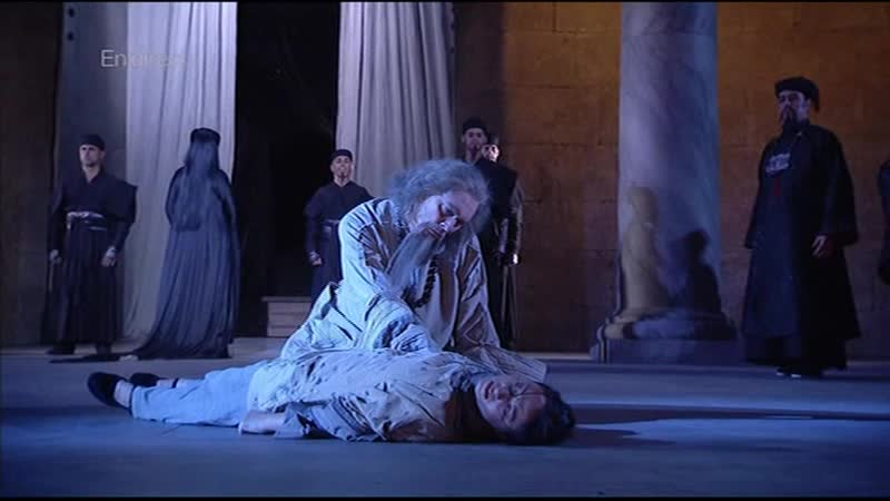 Turandot Chorégies d'Orange 2012 Roberto Alagna Lise Lindstrom