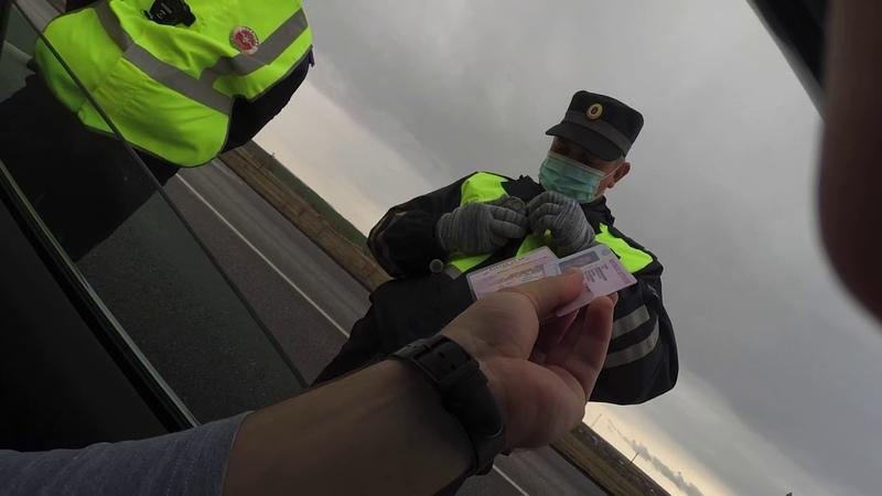 Подстава ДПС Чуть не врезался в патрульную машину Беспредел в Ульяновске