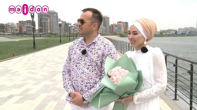 Салават Минниханов и Гүзәлем на передаче Түгәрәк бәхет