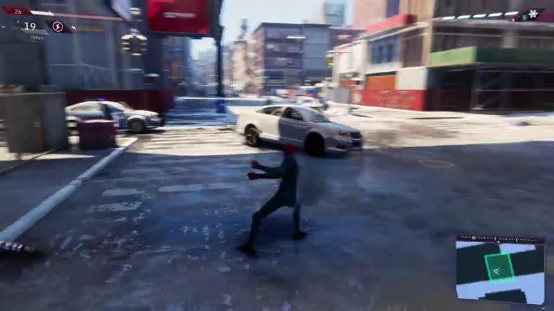 RGT Прохождение Spider Man Miles Morales Часть 2 Грабёж