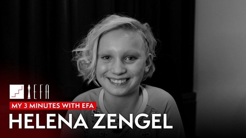 My 3 minutes with EFA Helena Zengel